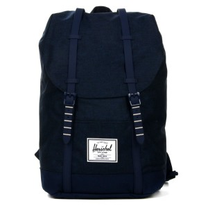 Herschel Sac à dos Retreat medievel blue crosshatch/medievel blue [ Promotion Black Friday Soldes ]