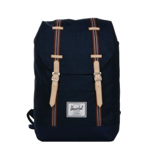 Herschel Sac à dos Retreat Offset medieval blue crosshatch/medieval blue | Pas Cher Jusqu'à 20% - 80%