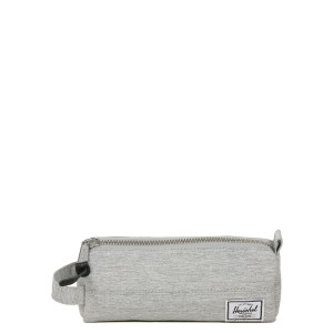 Herschel Trousse Settlement Case light grey crosshatch | Pas Cher Jusqu'à 20% - 80%