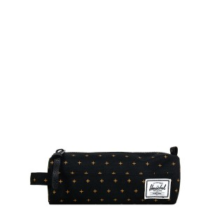 Herschel Trousse Settlement Case black gridlock gold [ Promotion Black Friday Soldes ]