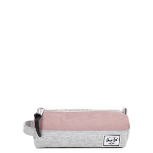 Herschel Trousse Settlement Case light grey crosshatch/ash rose | Pas Cher Jusqu'à 20% - 80%