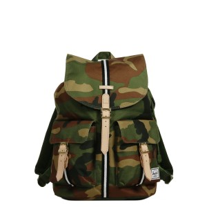 Herschel Sac à dos Dawson Offset woodland camo/black/white [ Promotion Black Friday Soldes ]
