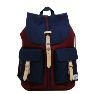 Herschel Sac à dos Dawson Offset windsor wine/peacoat [ Promotion Black Friday Soldes ]