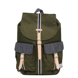 Herschel Sac à dos Dawson Offset forest night/ dark denim [ Promotion Black Friday Soldes ]