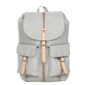 Herschel Sac à dos Dawson Offset light grey crosshatch/high rise [ Promotion Black Friday Soldes ]