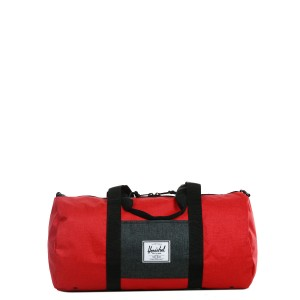 Herschel Sac de voyage Sutton Mid Volume 47.5 cm barbados cherry crosshatch/black crosshatch | Pas Cher Jusqu'à 20% - 80%