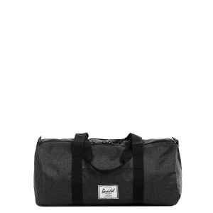 Herschel Sac de voyage Sutton Mid Volume 47.5 cm black crosshatch/black rubber [ Promotion Black Friday Soldes ]