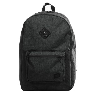 Herschel Sac à dos Ruskin Aspect black crosshatch/black/white [ Promotion Black Friday Soldes ]