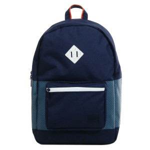 Herschel Sac à dos Ruskin Aspect peacoat/navy/vermillion orange [ Promotion Black Friday Soldes ]