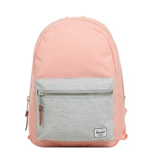 Herschel Sac à dos Grove X-Small peach/light grey crosshatch [ Promotion Black Friday Soldes ]