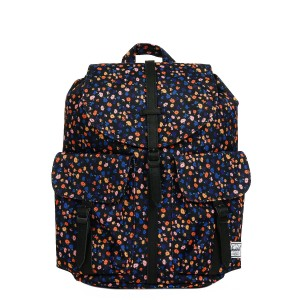 Herschel Sac à dos Dawson X-Small black mini floral/black synthetic leather [ Promotion Black Friday Soldes ]