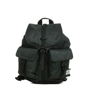 Herschel Sac à dos Dawson X-Small black crosshatch [ Promotion Black Friday Soldes ]