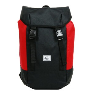 Herschel Sac à dos Iona black/scarlet [ Promotion Black Friday Soldes ]
