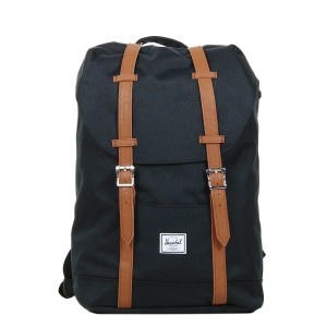 Herschel Sac à dos Retreat Mid-Volume black/tan [ Promotion Black Friday Soldes ]
