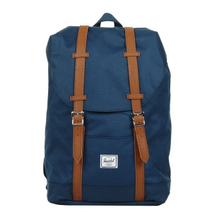 Herschel Sac à dos Retreat Mid-Volume navy/tan [ Promotion Black Friday Soldes ]
