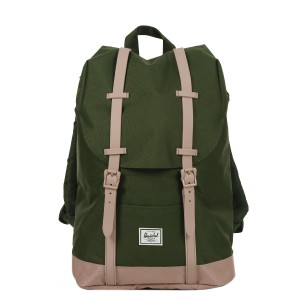 Herschel Sac à dos Retreat Mid-Volume forest night/ash rose | Pas Cher Jusqu'à 20% - 80%