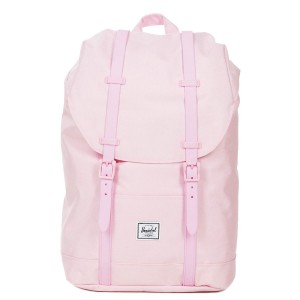 Herschel Sac à dos Retreat Mid-Volume pink lady crosshatch [ Promotion Black Friday Soldes ]