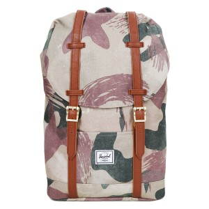 Herschel Sac à dos Retreat Mid-Volume brushstroke camo [ Promotion Black Friday Soldes ]