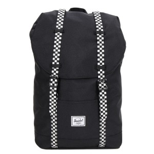 Herschel Sac à dos Retreat Mid-Volume black/checkerboard [ Promotion Black Friday Soldes ]