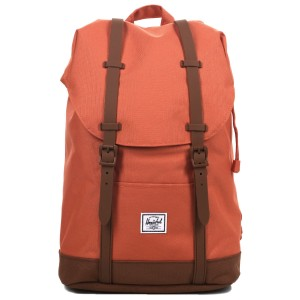 Herschel Sac à dos Retreat Mid-Volume apricot brandy/saddle brown [ Promotion Black Friday Soldes ]