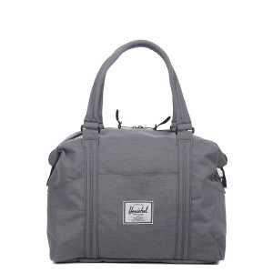 Herschel Sac de voyage Strand 41 cm mid grey crosshatch [ Promotion Black Friday Soldes ]