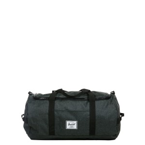 Herschel Sac de voyage Sutton 59 cm black crosshatch/black rubber [ Promotion Black Friday Soldes ]
