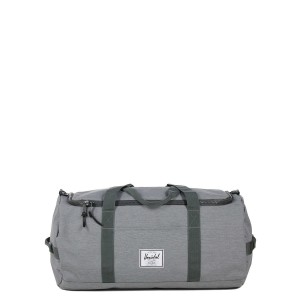 Herschel Sac de voyage Sutton 59 cm mid grey crosshatch [ Promotion Black Friday Soldes ]