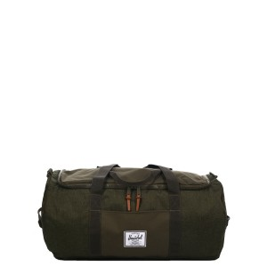 Herschel Sac de voyage Sutton 59 cm olive night crosshatch/olive night [ Promotion Black Friday Soldes ]