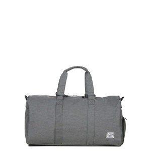 Herschel Sac de voyage Novel Mid-Volume 53 cm mid grey crosshatch [ Promotion Black Friday Soldes ]