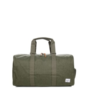 Herschel Sac de voyage Novel Mid-Volume 53 cm olive night crosshatch/olive night | Pas Cher Jusqu'à 20% - 80%