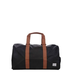 Herschel Sac de voyage Novel Mid-Volume 53 cm black/saddle brown [ Promotion Black Friday Soldes ]