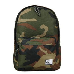 Herschel Sac à dos Classic Mid-Volume woodland camo [ Promotion Black Friday Soldes ]