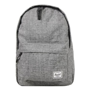 Herschel Sac à dos Classic Mid-Volume raven crosshatch [ Promotion Black Friday Soldes ]