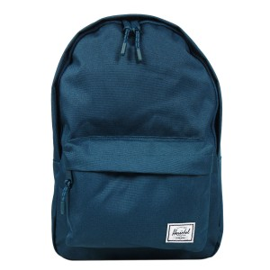 Herschel Sac à dos Classic Mid-Volume deep teal [ Promotion Black Friday Soldes ]