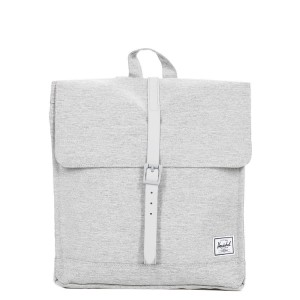 Herschel Sac à dos City Mid-Volume light grey crosshatch [ Promotion Black Friday Soldes ]