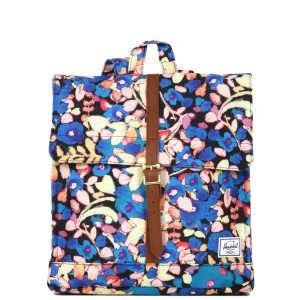 Herschel Sac à dos City Mid-Volume painted floral [ Promotion Black Friday Soldes ]