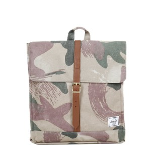 Herschel Sac à dos City Mid-Volume brushstroke camo [ Promotion Black Friday Soldes ]