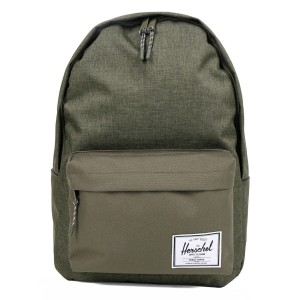 Herschel Sac à dos Classic XL olive night crosshatch/olive night [ Promotion Black Friday Soldes ]