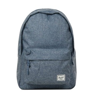 Herschel Sac à dos Classic dark chambray crosshatch [ Promotion Black Friday Soldes ]