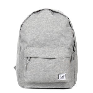 Herschel Sac à dos Classic light grey crosshatch [ Promotion Black Friday Soldes ]