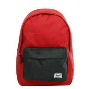 Herschel Sac à dos Classic barbados cherry crosshatch/black crosshatch [ Promotion Black Friday Soldes ]