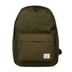 Herschel Sac à dos Classic olive night crosshatch/olive night [ Promotion Black Friday Soldes ]
