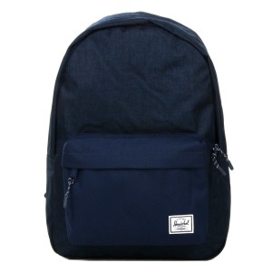 Herschel Sac à dos Classic medievel blue crosshatch/medievel blue [ Promotion Black Friday Soldes ]