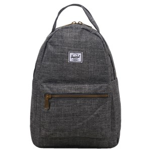 Herschel Sac à dos Nova X-Small raven crosshatch [ Promotion Black Friday Soldes ]