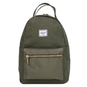 Herschel Sac à dos Nova X-Small olive night crosshatch/olive night [ Promotion Black Friday Soldes ]