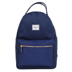 Herschel Sac à dos Nova X-Small medievel blue crosshatch/medievel blue [ Promotion Black Friday Soldes ]
