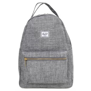 Herschel Sac à dos Nova Mid-Volume raven crosshatch [ Promotion Black Friday Soldes ]