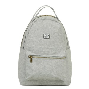 Herschel Sac à dos Nova Mid-Volume light grey crosshatch [ Promotion Black Friday Soldes ]
