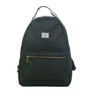 Herschel Sac à dos Nova Mid-Volume black crosshatch [ Promotion Black Friday Soldes ]
