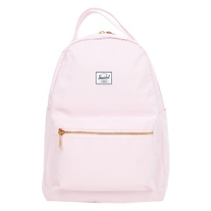 Herschel Sac à dos Nova Mid-Volume pink lady crosshatch [ Promotion Black Friday Soldes ]